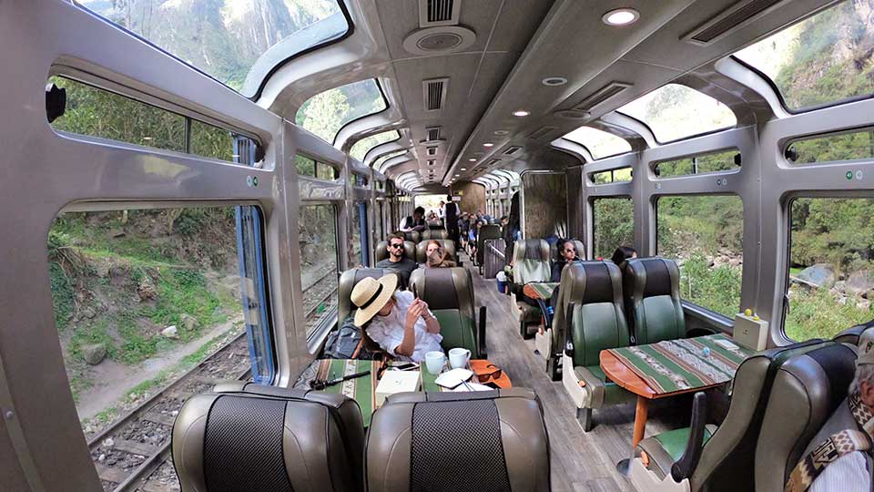train machu picchu town