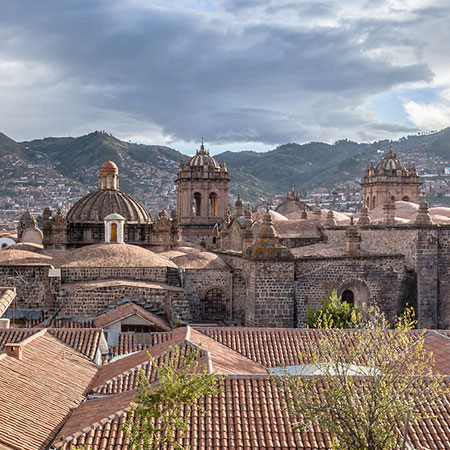 cusco cathedral view